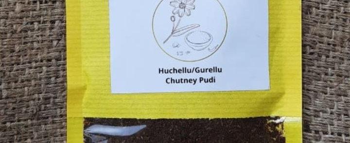 Niger Chutney Powder (Huchellu/Gurellu Chutney Pudi)