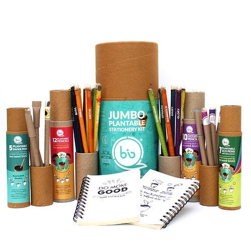 bioQ Eco Friendly Plantable Stationery Jumbo Kit