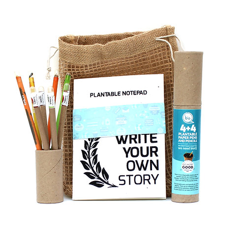 bioQ Eco Friendly Plantable Jute Kit