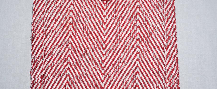 Handloom iPad Cover (Red Zig Zag)