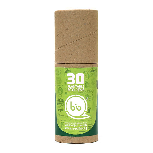 bioQ Box of 30 Plantable Seed Pens | Eco Friendly Box for Offices