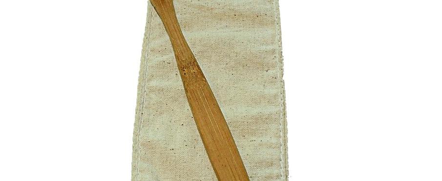 Bamboo Toothbrush - Charcoal Bristles