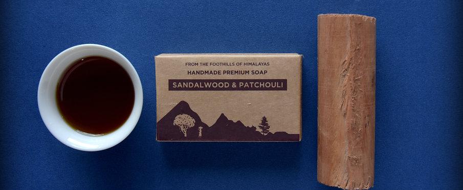 Sandalwood and Patchouli Luxury Soap