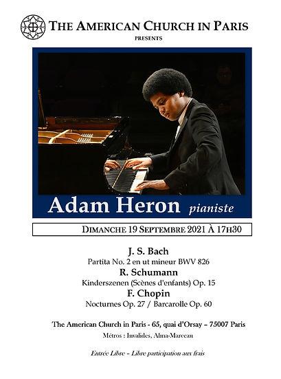 Adam Heron France Debut Poster.jpg