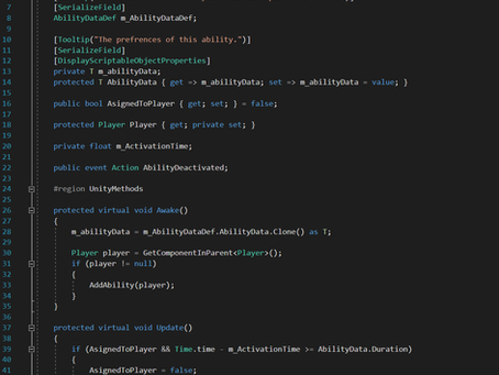 Coming Soon: Creating a Modular Ability System in Unity using Scripatable Objects and C# Generics