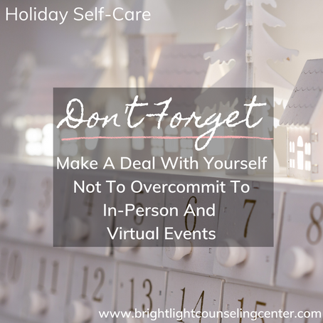 Don't Forget about You this Holiday Season