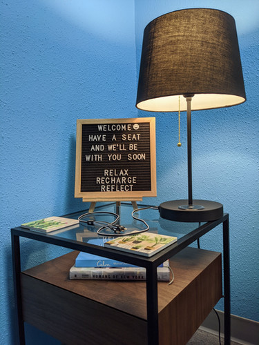 Bright Light Counseling Center's Waiting Room