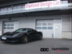 Ferrari 458 Italia Car Wrap France