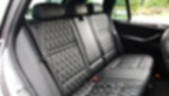 BMW X5 intérieur cuir sur mesure