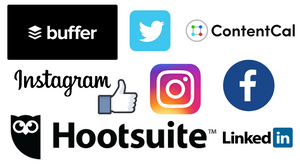 Social media scheduling tools for Twitter, Instagram & Linked In