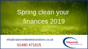 Spring clean your finances 2019
