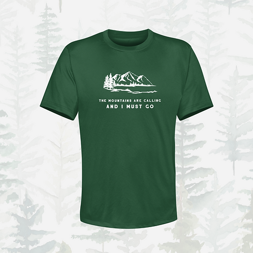 The Mountains Are Calling Technical Top