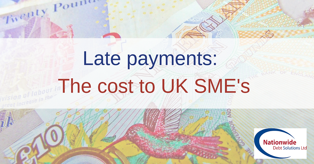 Late payments: The cost to the UK SME's