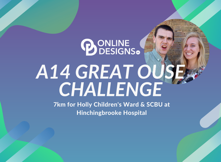 We're aiming to raise £150 for Holly Children's Ward & SCBU at Hinchingbrooke Hospital