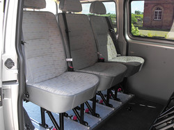 Derwent Fixed Seats on Quick Release