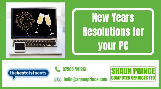 New Years Resolutions for your PC