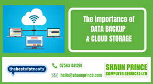 The Importance of Data Backup & Cloud Storage