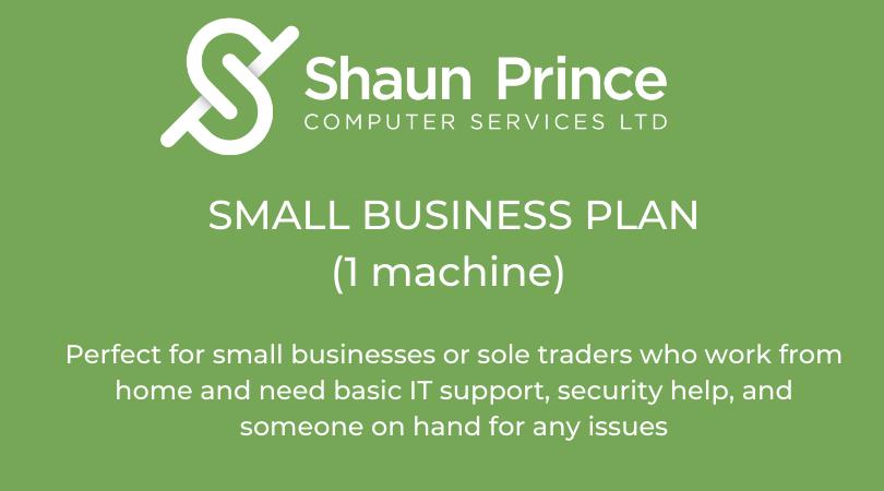 Small Business Plan (1 machine)