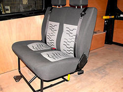New Ford Trim, 2 Place Folding Seat