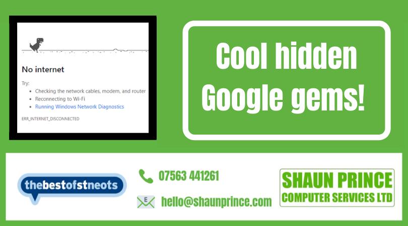 Cool hidden Google gems!