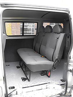 3 Place Folding Seat