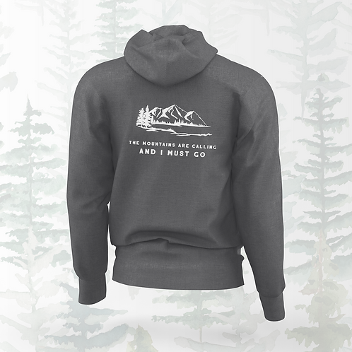 The Mountains are Calling Hoodie