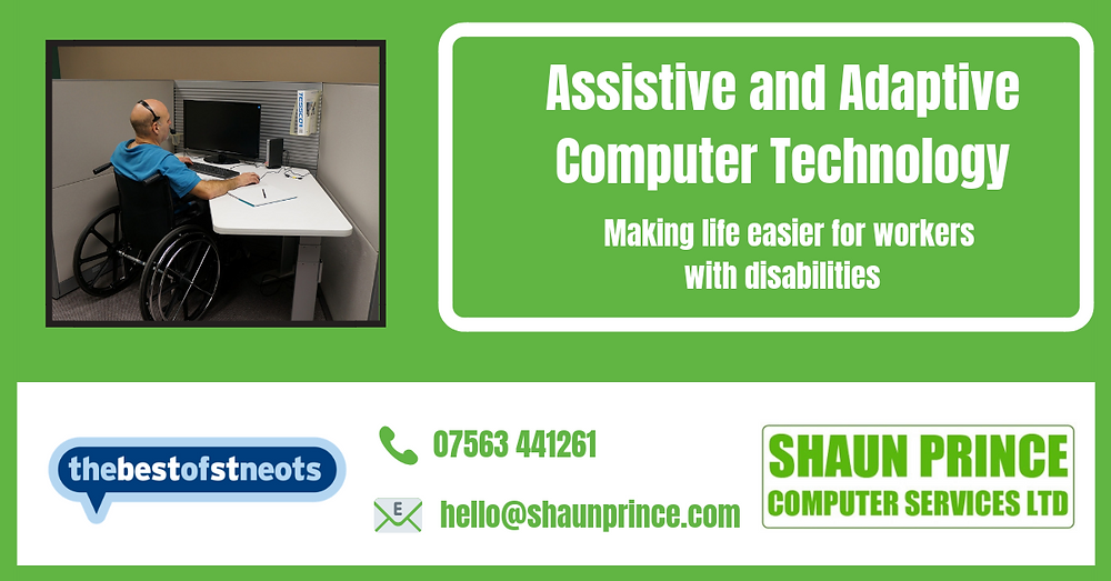 Assistive and Adaptive Computer Technology - Making life easier for workers with disabilities