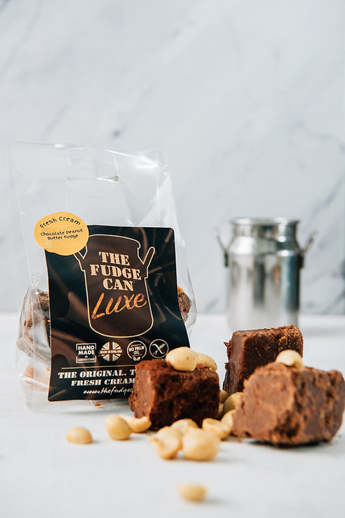 Chocolate/Crunchy Peanut Butter Fudge-Original Recipe 100g.