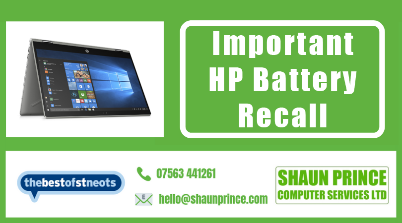 Important - HP Battery Recall