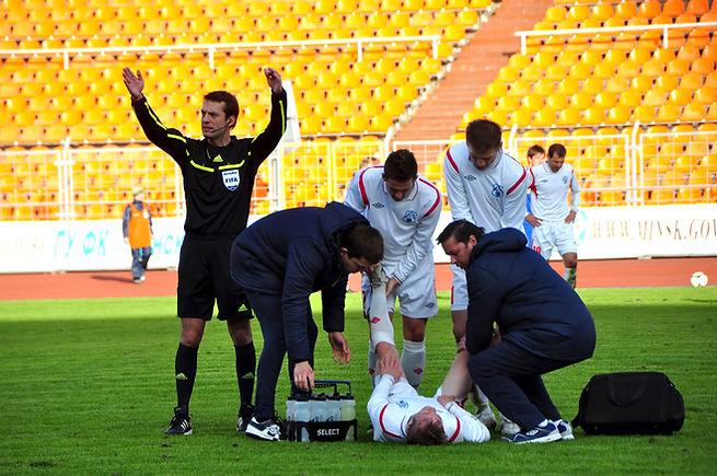Sports Injuries - shutterstock_98925425.