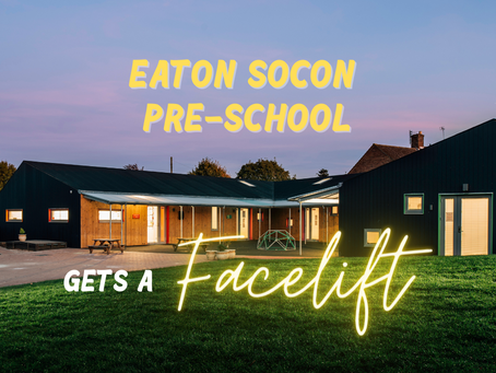 Eaton Socon Pre-School and its digital facelift