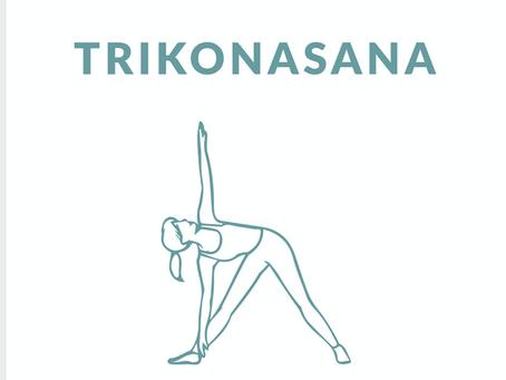 Trikonasana / Triangle Pose