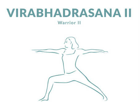 Virabhadrasana / Warrior II / Guerriero 2