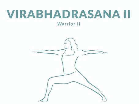 Virabhadrasana / Warrior II / Guerriero 2