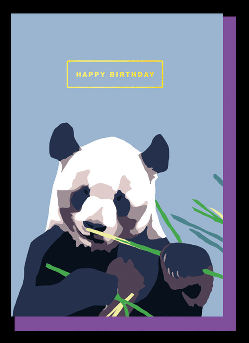 Panda Happy Birthday
