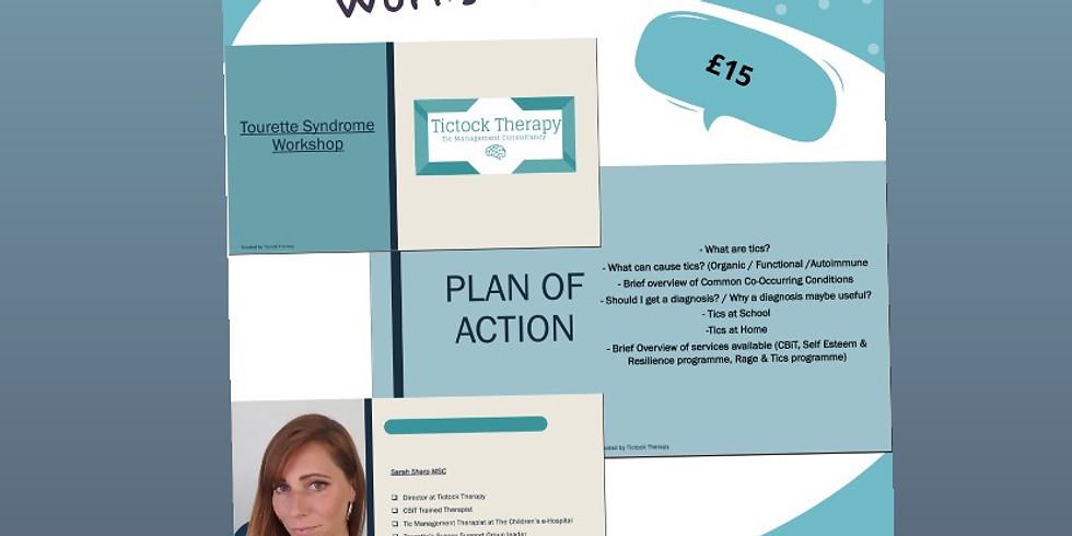 Tourette's & Tic Disorder online workshop