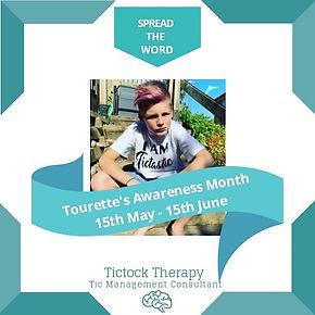 Tourette's Awareness Month Promotion