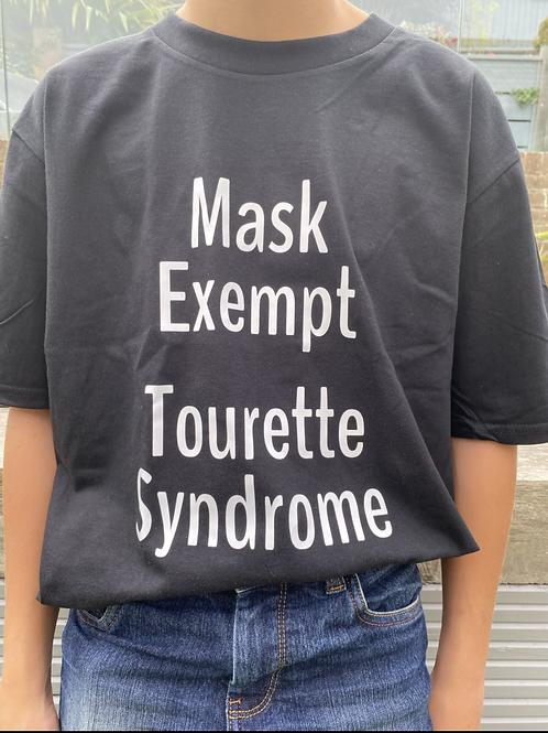 Mask exempt - Tourette's