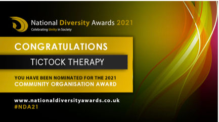 Tictock Therapy National diversity Awards 2021