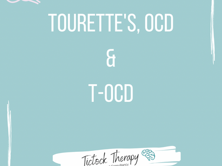 The difference between OCD and Tourettetic OCD (TOCD)