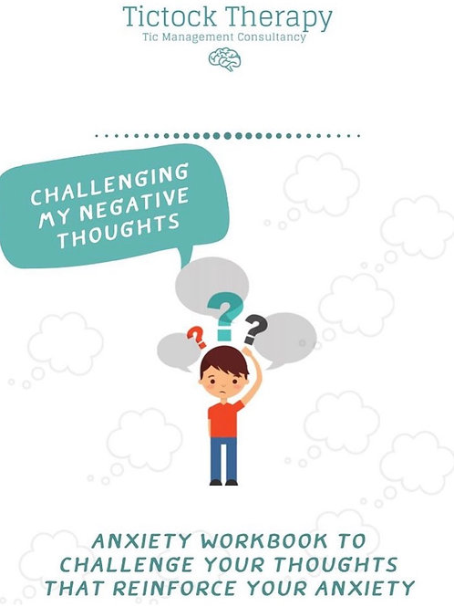 Challenging my thoughts printable workbook