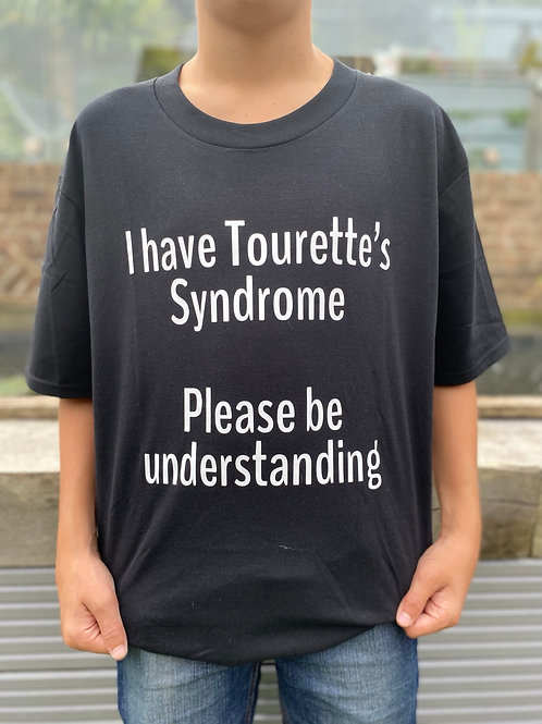 I have Tourette's, please be understanding