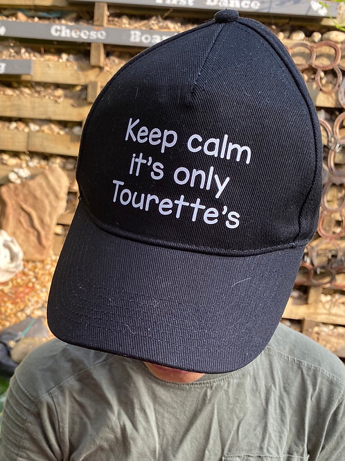 Keep calm it's only Tourette's hat