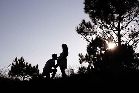 sesión de fotografía de embarazo en Sanxenxo de uno punto cuatro fotografíaen Ponteved