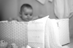 Sesión de fotografía de bautizo en Sanxenxo de uno punto cuatro fotografía