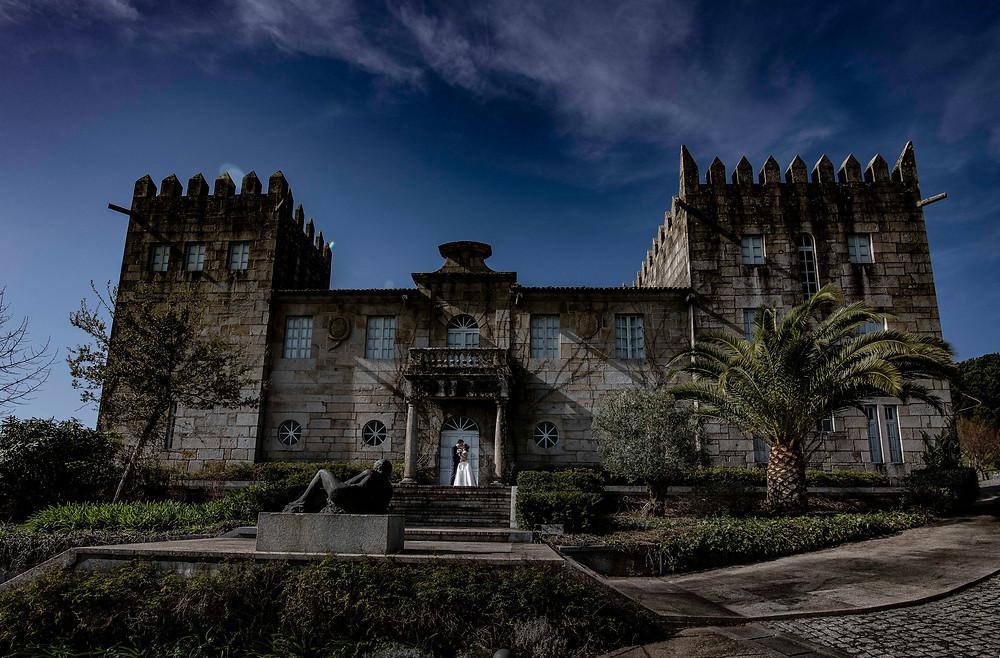 Fotografía de Boda en Pazo Baión en Villagarcía de Arousa de uno punto cuatro fotografía
