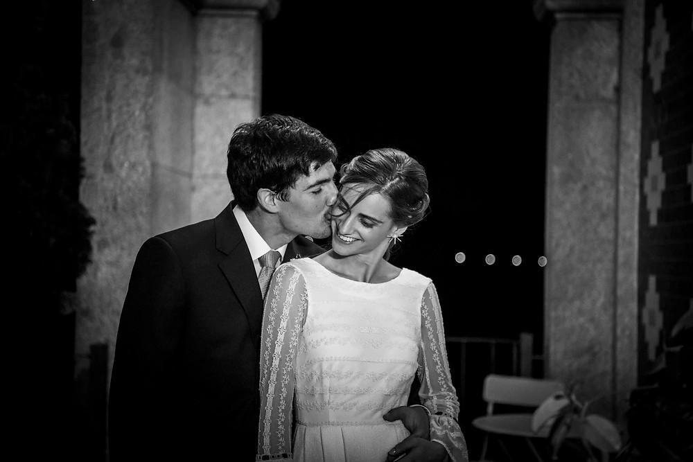 Fotografía de boda en Bodegas Gran Bazán en Pontevedra de uno punto cuatro fotografía