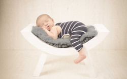 Sesión de fotografía de newborn en Sanxenxo de uno punto cuatro fotografía