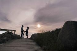 Sesión de fotografía de preboda en Pontevedra de uno punto cuatro fotografía