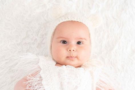 Sesión de fotografía de bebés en Pontevedra de uno punto cuatro fotografía